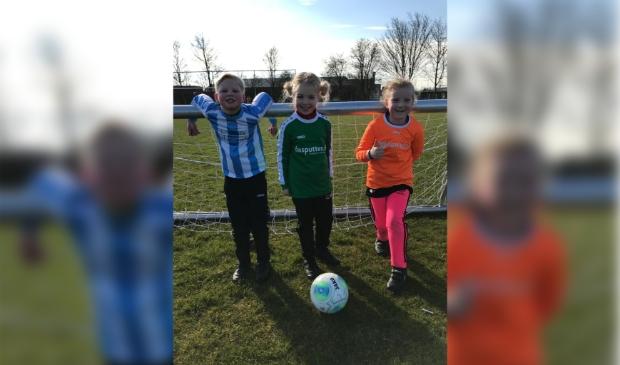 <p>De talente van FC Uitgeest; Feline, Eva en Javi.&nbsp;</p>