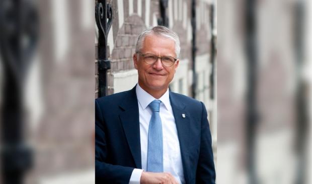 Wethouder Pieter Dijkman.
