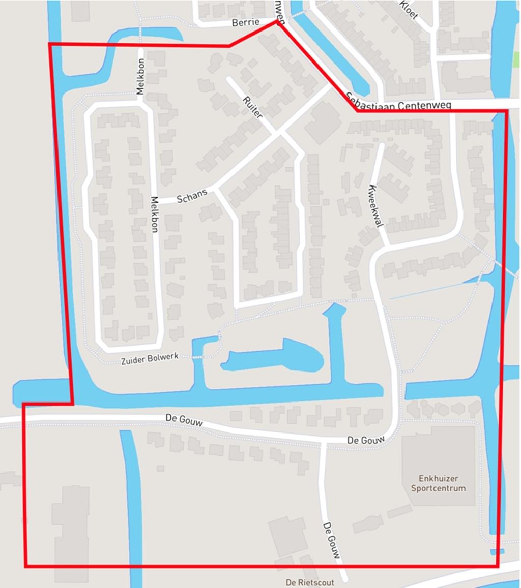 <p>Het zuidwestelijk deel van Gommerwijk West in Enkhuizen: goede plek voor eerste buurtwarmtenet.</p> <p>(Foto: aangeleverd)</p> © rodi