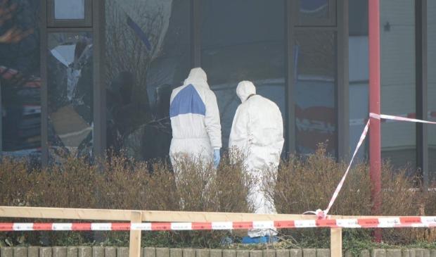 <p>Onderzoek door Explosieven Opruimingsdienst.</p>