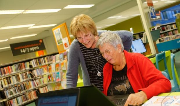 <p>Zo ging het er v&oacute;&oacute;r corona aan toe. De bibliotheken hanteren de coronarichtlijnen.</p>