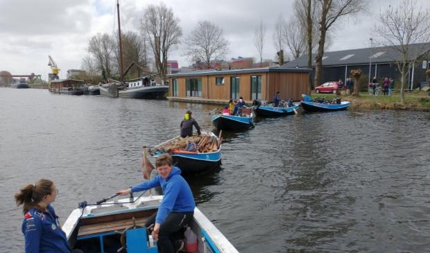 <p>De waterscouts van Marco Polo zijn weer begonnen.</p>