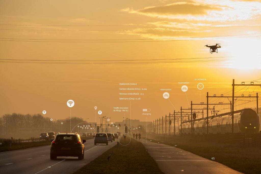 <p>De provincie blijft fors inzetten op Smart Mobility.</p> (Foto: Aangeleverd) © rodi