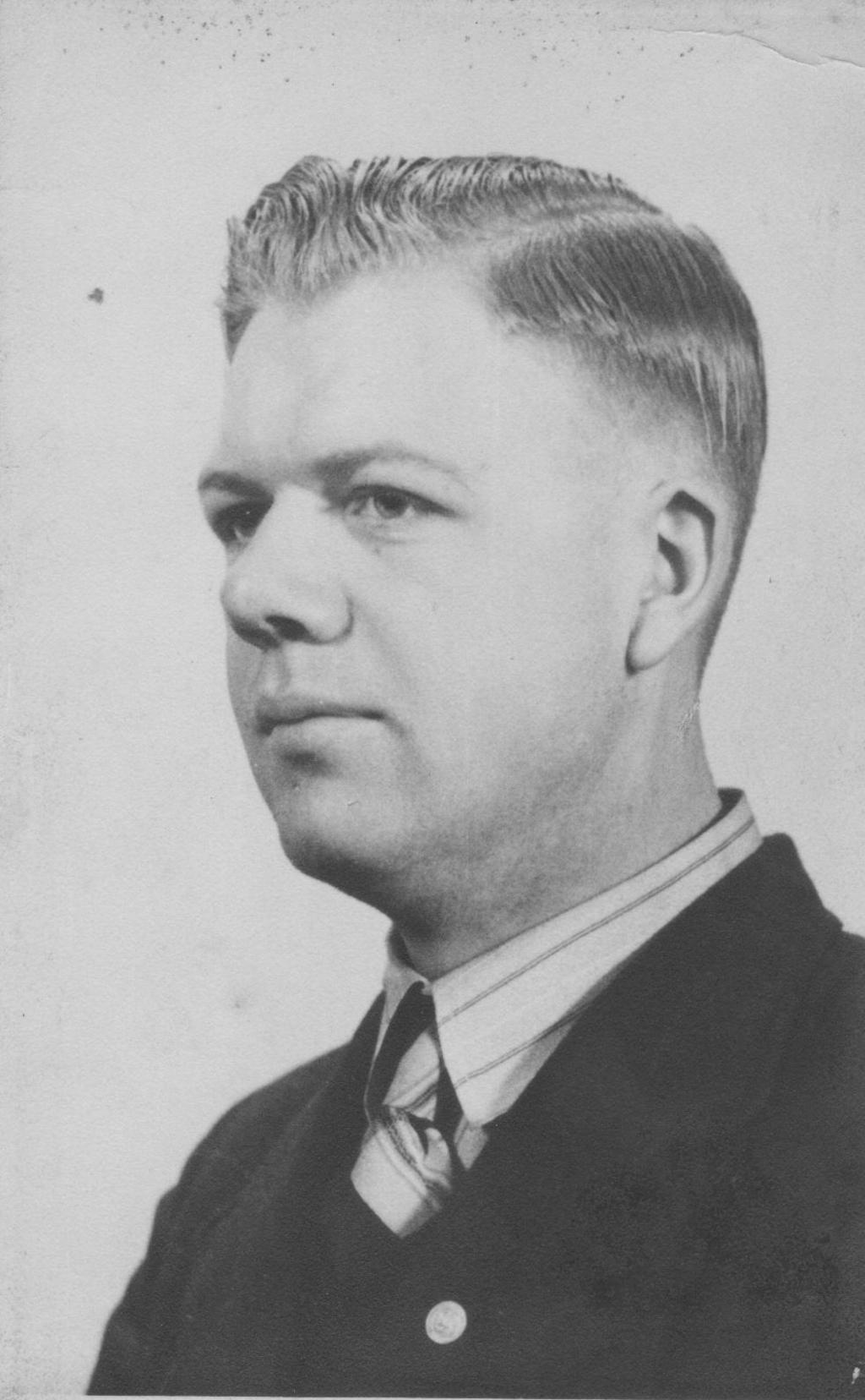 Gerrit Dekkers, maart 1941. (Foto: aangeleverd) © rodi