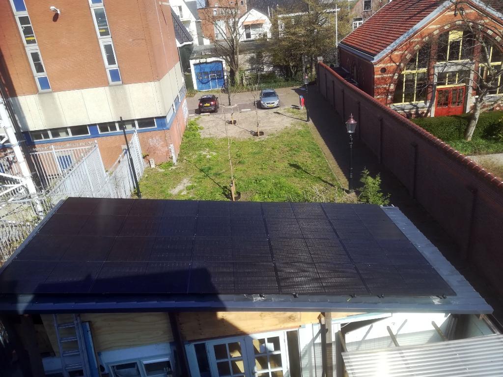 <p>Het resultaat: 6500 kwh aan zonnestroom.</p> <p>(Foto: aangeleverd)</p> © rodi