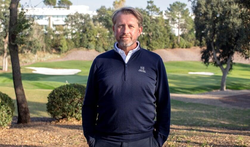 Dirk Delfortrie, Director of Golf op PGA Catalunya. ,,Alles wat ik hiervoor gedaan heb, komt hier allemaal samen. Een geweldige mix van twee werelden.''