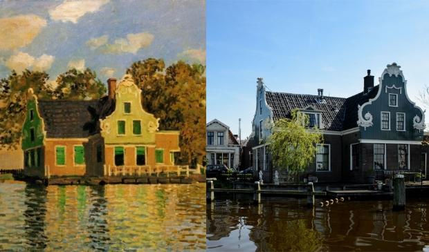 <p>Monet was maar kort in de Zaanstreek maar leverde een enorme productie aan schilderijen.&nbsp;</p>
