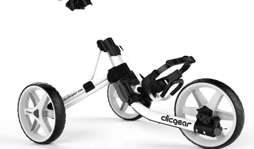 De nieuwste editie van de befaamde driewieler van Clicgear.