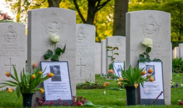 <p>De geallieerde begraafplaats in Bergen.&nbsp;</p>
