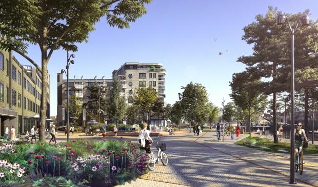 <p>Meer groen is nodig om de klimaatbestendigheid in steden te vergroten.</p>