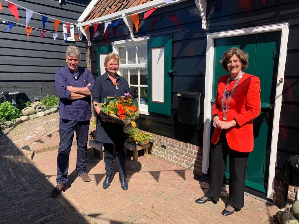 <p>Mevrouw van Altena-Boes uit Marken.&nbsp;</p> <p>(Foto: gemeente Waterland )</p> © rodi