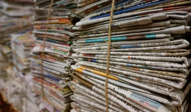 <p>Inzamelen van oud papier gaat even anders tijdens de vakantieperiode.&nbsp;</p>