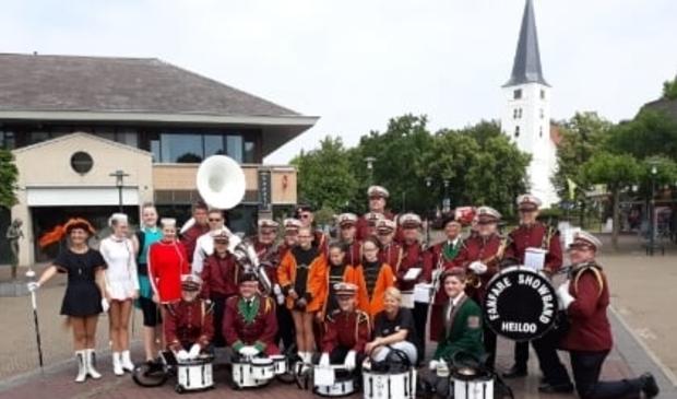 <p>Fanfare Showband Heiloo is populair in de regio. (Foto: aangeleverd)</p>