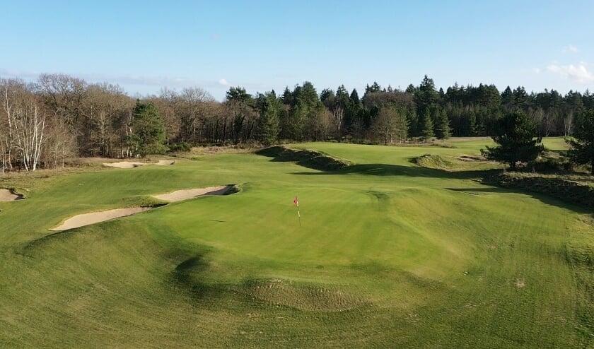<p>De tweede hole van de New Course op Les Bordes. De baan wordt in juli geopend.</p>