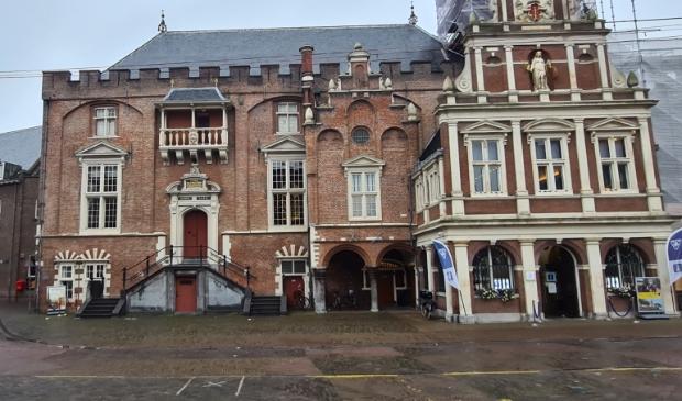 <p>Het stadhuis van Haarlem.</p>