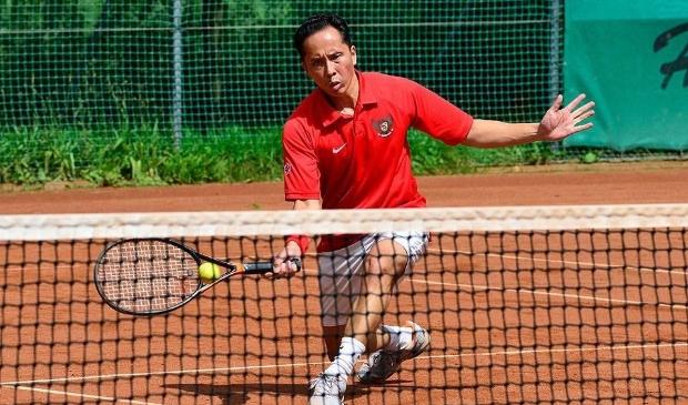 <p>Bij Tennisvereniging Geuzenveld kan het hele jaar door worden getennist.</p>