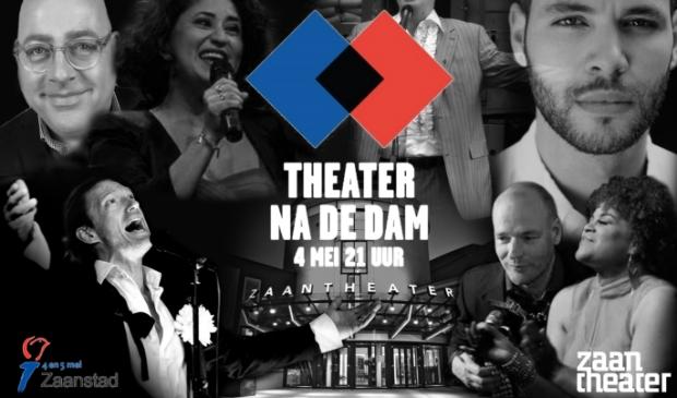 <p>Ook het Zaantheater doet mee aan de twaalfde editie van Theater na de Dam op 4 mei.&nbsp;&nbsp;</p>