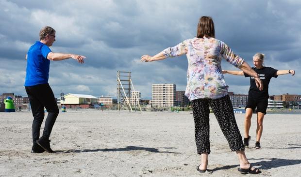 <p>Lekker vrij dansen en creatief bewegen.</p>