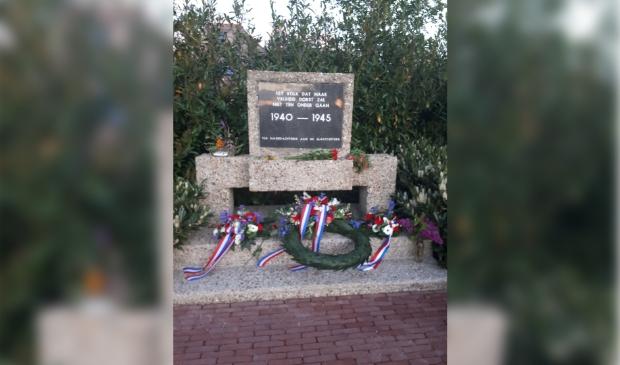 <p>Bij het monument vindt een korte herdenking plaats.</p>