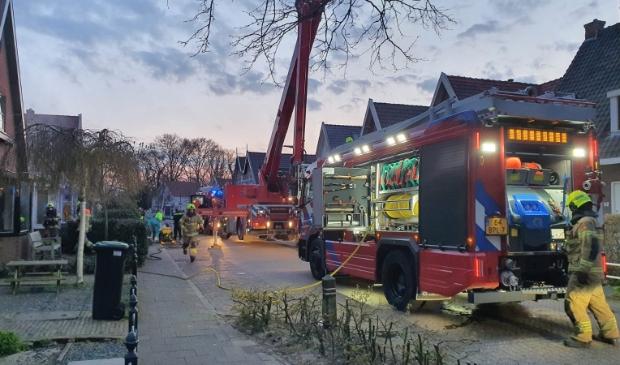 <p>Dinsdagavond heeft er brand gewoed in een woning aan de Schuine Hondsbosschelaan in Heiloo.</p>