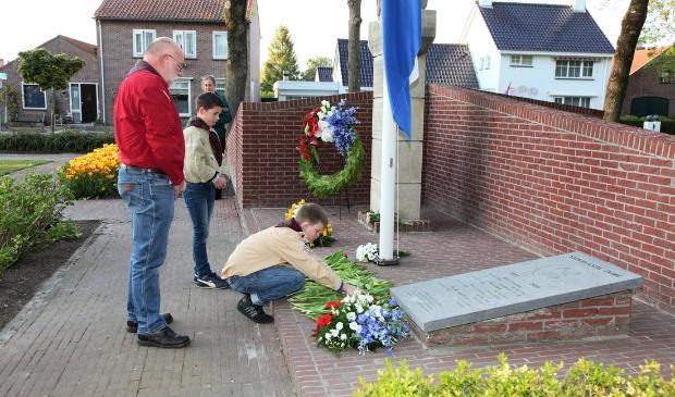 <p>Dit jaar wederom een sobere dodenherdenking in Wieringerwerf.</p>