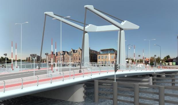 <p>Zo gaat de nieuwe brug eruit zien.&nbsp;</p>