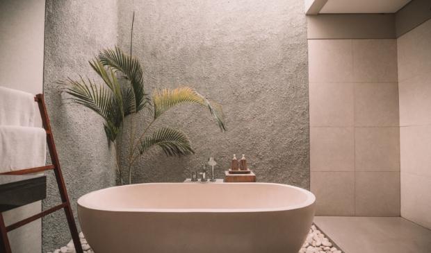 <p>Geniet van groen tijdens het baden.&nbsp;</p>