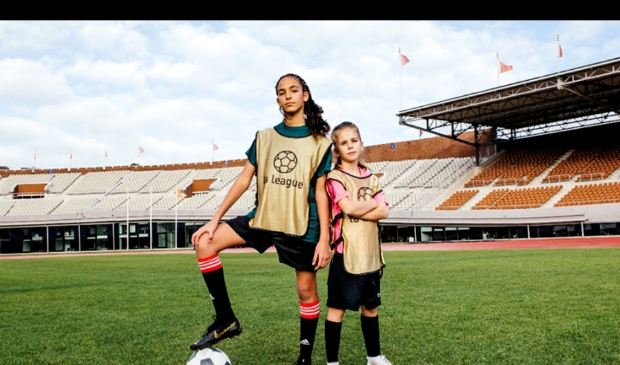 Er wordt geld ingezameld voor meidenvoetbalprojecten in Brazilië en Nicaragua. (Foto: aangeleverd) © rodi