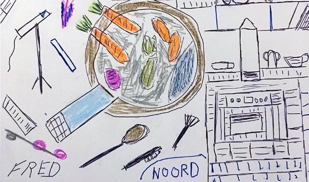 <p>Een tekening van Fred.</p>