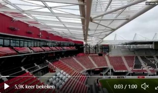 <p>Nieuwsgierig naar hoe het AFAS Stadion er nu uitziet? Check de video van Ed van de Pol</p>