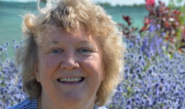 <p>Ina Broekhuizen-Slot, kenner van de Westfriese taal.</p>