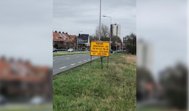 Westelijke Randweg afgesloten op 15 en 16 april.