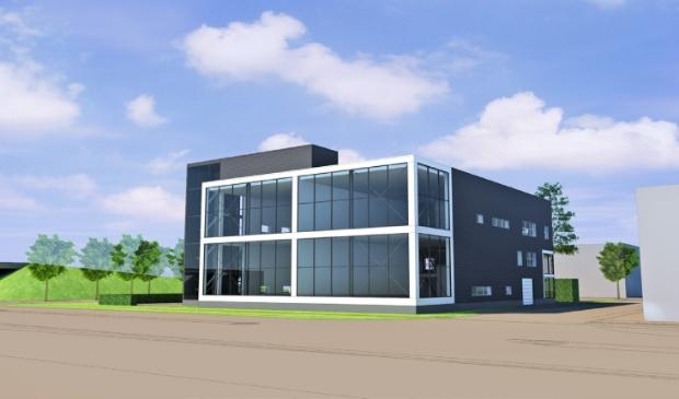 """<p pstyle=""""PLAT"""">Artist impression nieuwe locatie Techlands aan de Aris van Broekweg in Zaandam.</p>"""