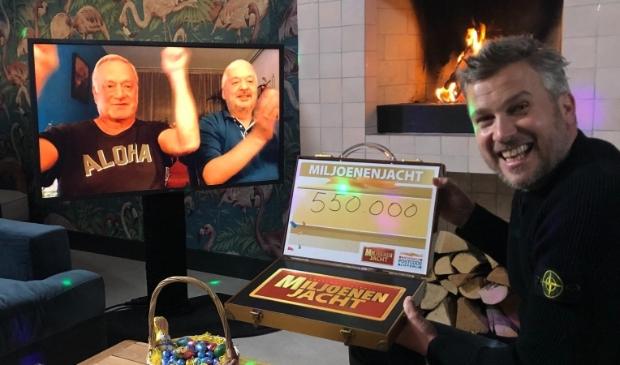<p>Tim uit Amsterdam-Noord wordt verrast door Winston Gerschtanowitz. </p>