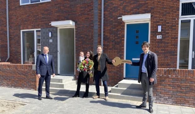 <p>De woningen zijn in samenwerking met gemeente Haarlem gerealiseerd op het voormalige Deliterrein.</p>