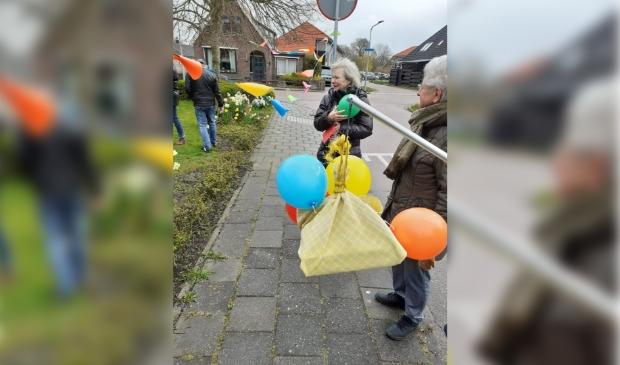 <p>De verjaardag werd gevierd met wind en hagelbuien.</p>