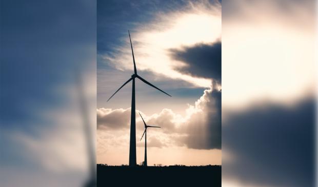 <p>Twee nieuwe windturbines voor de Boekelermeer,</p>