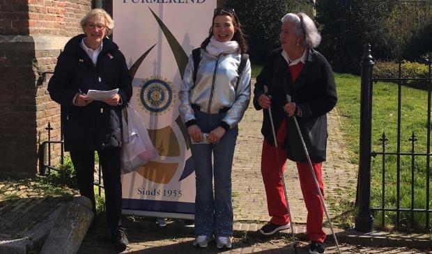 <p>Service club Inner Wheel Purmerend heeft ruim 900,= euro bij elkaar gewandeld door Edam voor de Stichting &ldquo;Hart voor Vrouwen&rdquo; .</p>