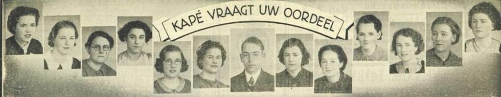 <p>De Helderse dames die in 1939 bij Kapé werkten.</p> <p>(Foto: aangeleverd)</p> © rodi