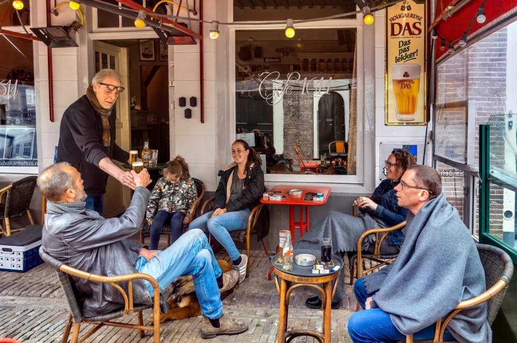 <p>De biertap van Caf&eacute; 1614 in Monnickendam doet het nog. </p>