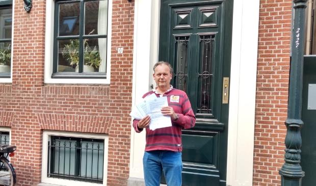 <p>In april verzamelde De Munnik in korte tijd 250 handtekeningen tegen de afsluiting van de Melkmarkt. </p>