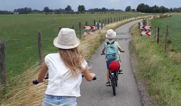 <p>Traptrip routes zijn speciaal gemaakt om met kinderen te fietsen. </p>