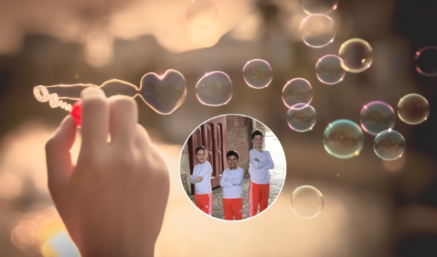 <p>De Bonte Jongens. V.l.n.r. Dion (9 jaar), Ayden (7 jaar) & Noah (11 jaar).</p>
