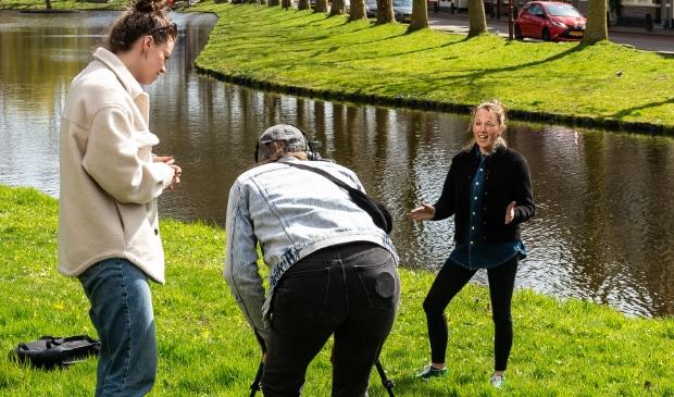 <p>Twee weken geleden werden bij het water aan de Herengracht opnames gemaakt voor het filmpje dat via de link te zien is.&nbsp;&nbsp;</p>