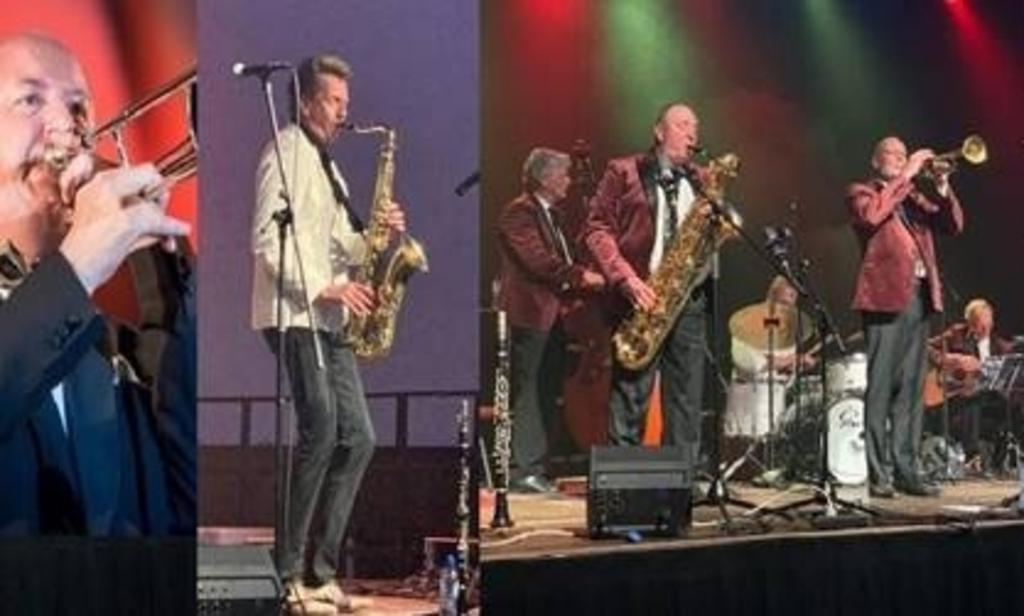 De FBI Jazzband met Wouter Kiers en André Pet.  (Foto: aangeleverd) © rodi