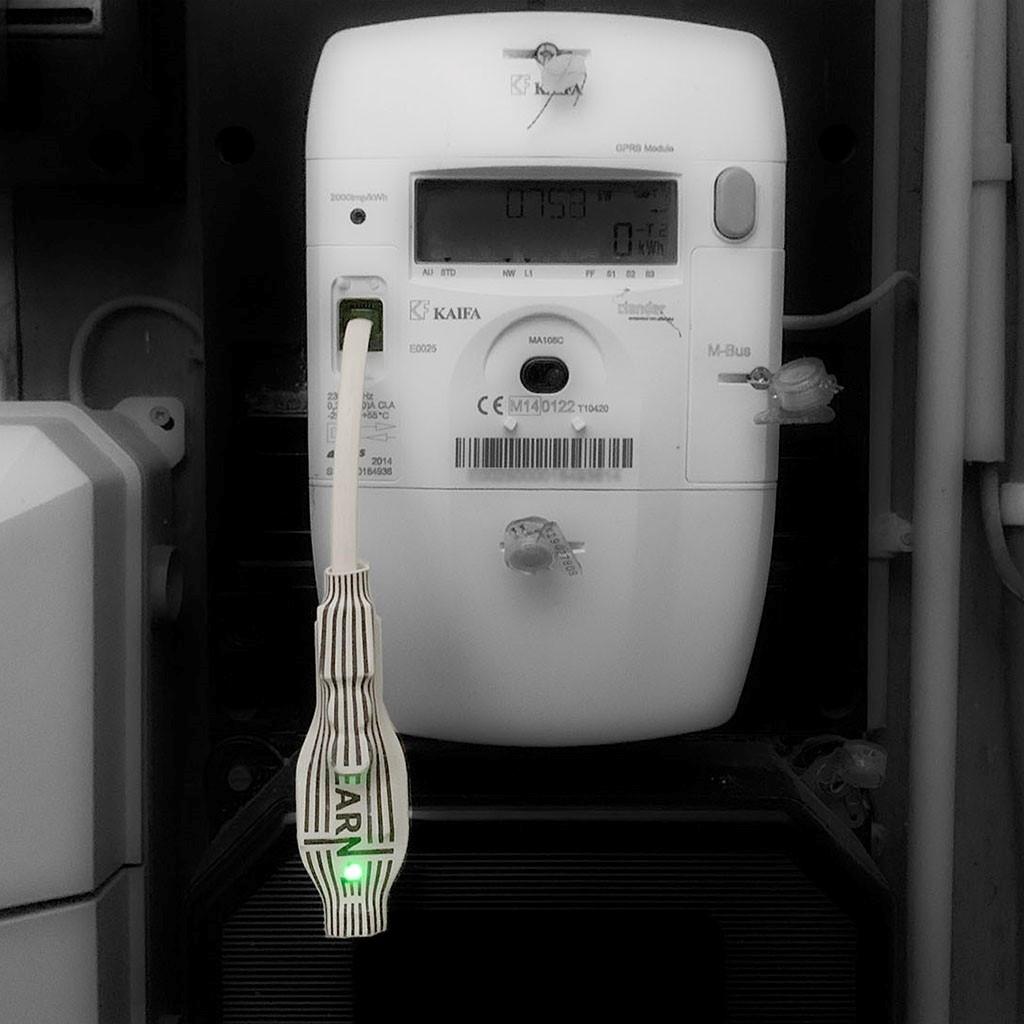 De EARN-E geeft realtime inzicht in het energieverbruik. (Foto: aangeleverd) © rodi