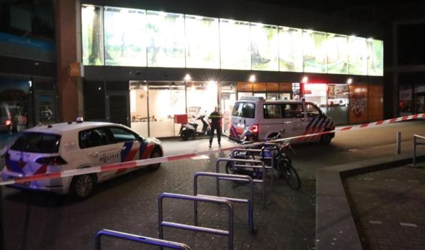 <p>De politie was snel ter plaatse.</p>