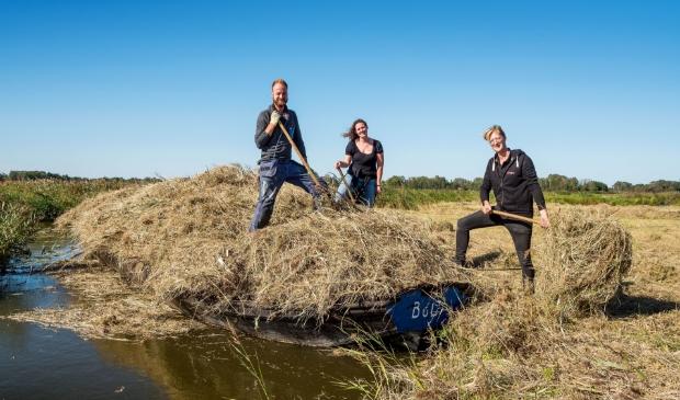<p>SQR bv vorig jaar in actie bij Stichting Veldzorg Oosterdel.</p>