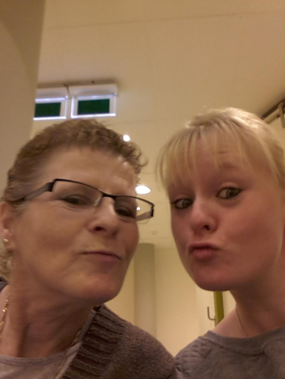 Melissa en haar moeder. (Foto: Aangeleverd) © rodi