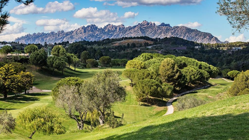 Golf Barcelona ligt in een schitterende omgeving met prachtige uitzichten. (Foto: Ezequiel Sanchez Leon) © rodi